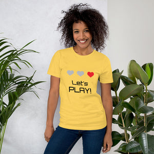 Let`s Play - Unisex T-Shirt - DeFelip Sweden®️