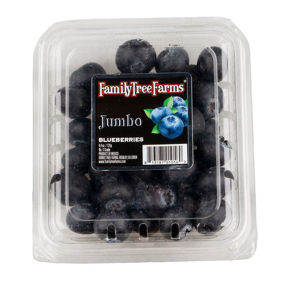 Family Tree Farms Jumbo Blueberries (1 punnet)