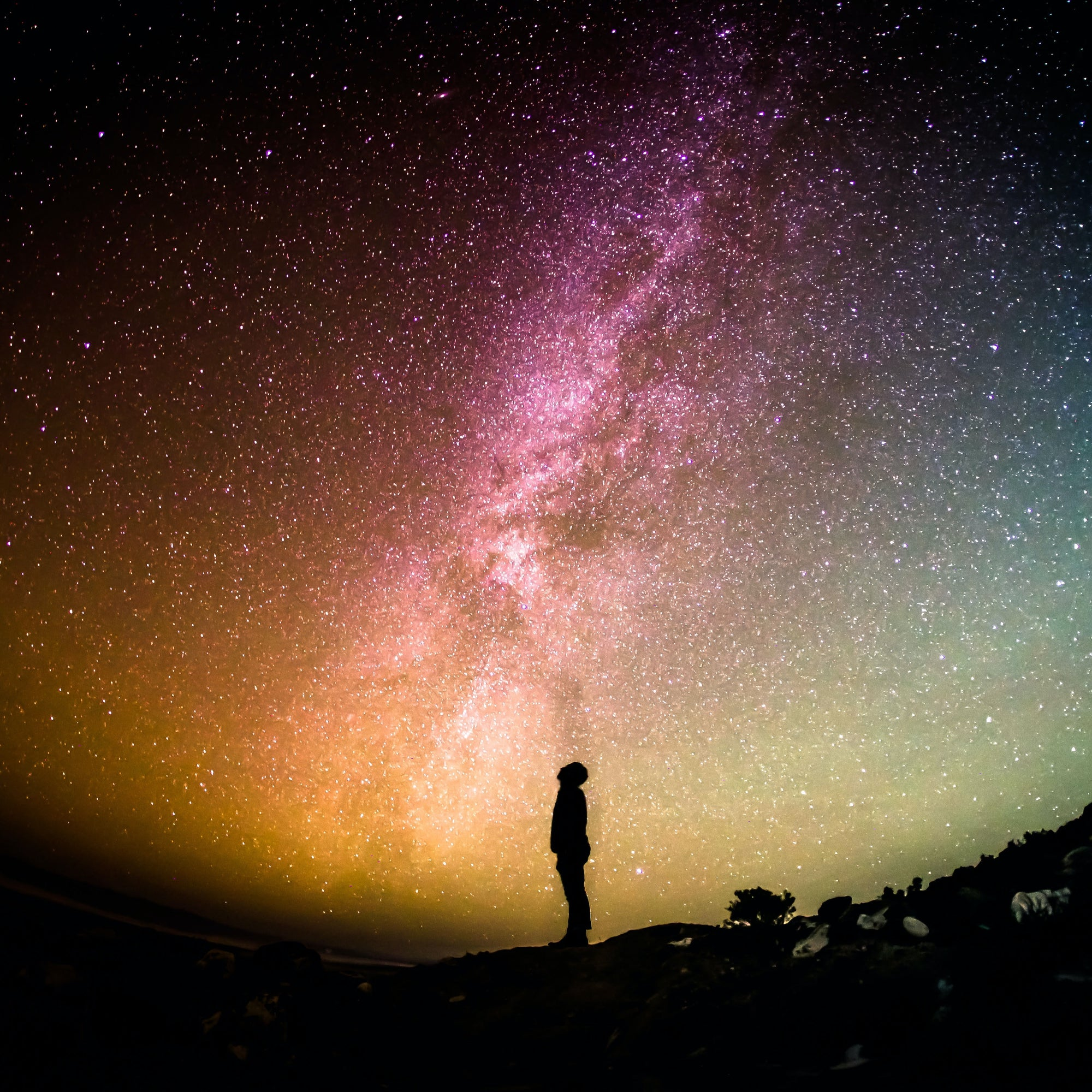 Man Looking at The Milky Way | 30: Let Go Of Ignorance | Blake Bauer