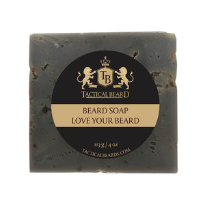 A container of the best beard soap