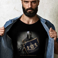 Load image into Gallery viewer, Black Bella Canvas Veni Vidi Vici T-Shirt