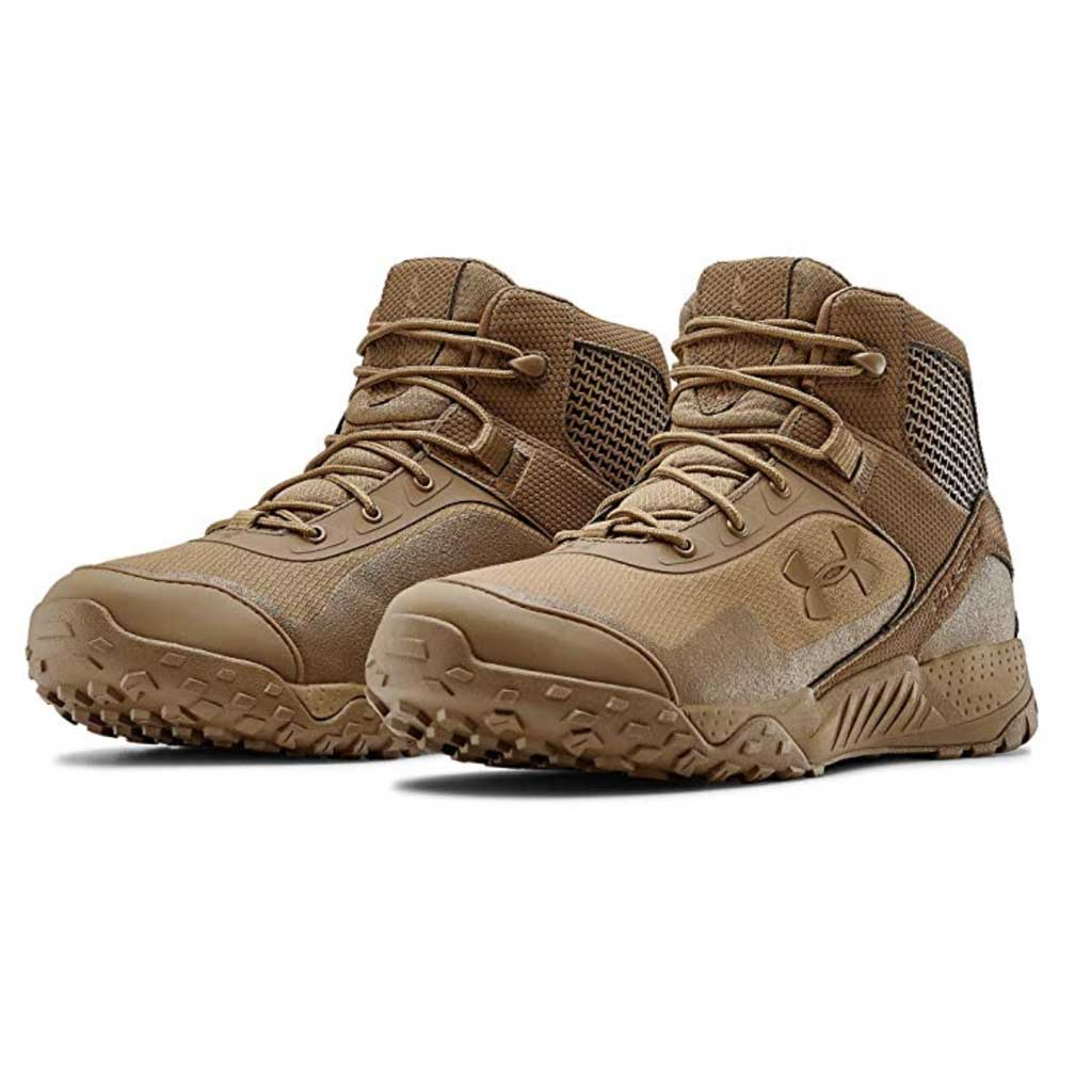 Under armour valsetz boots set coyote brown color