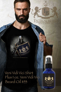 Special Veni Vidi T-Shirt Plus 1 oz Beard Oil