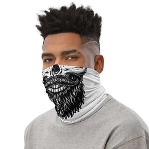 Mod Bearded Skull Neck Gaiter