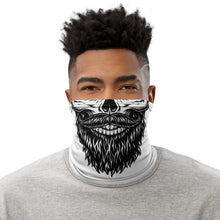 Load image into Gallery viewer, Mod Bearded Skull Neck Gaiter