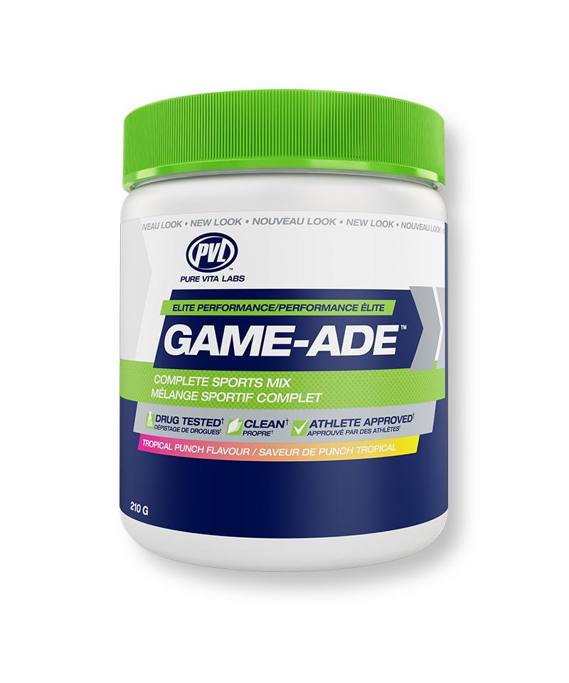Pure Vita Labs - PVL - Game-Ade - Tropical Punch - 210 g