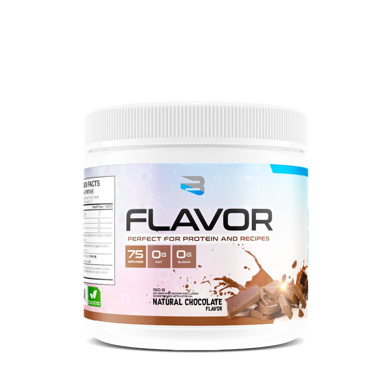 Believe Supplements - Flavor - Chocolat Naturel