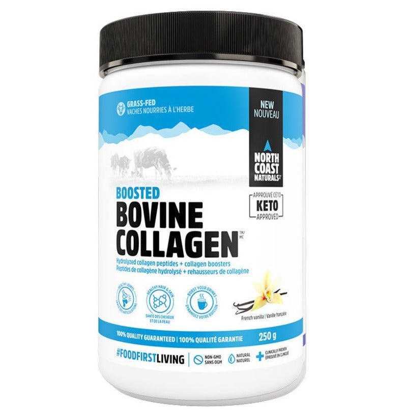 North Coast Naturals NCN - Collagène Bovin - Vanille Française - 250g