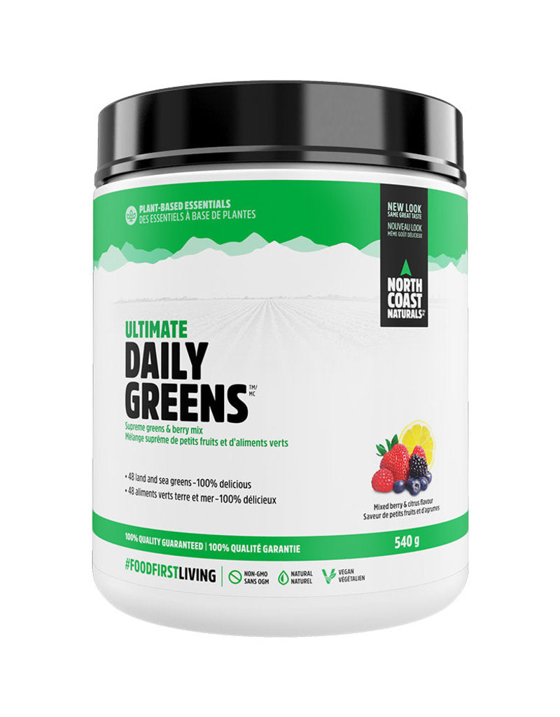 North Coast Naturals NCN - Ultimate Daily Greens Petits Fruits 540 gr