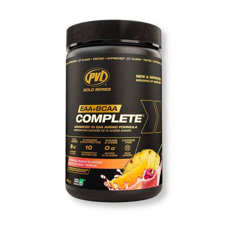 Pure Vita Labs - PVL - EAA+BCAA Complete - Punch Tropical - 330g