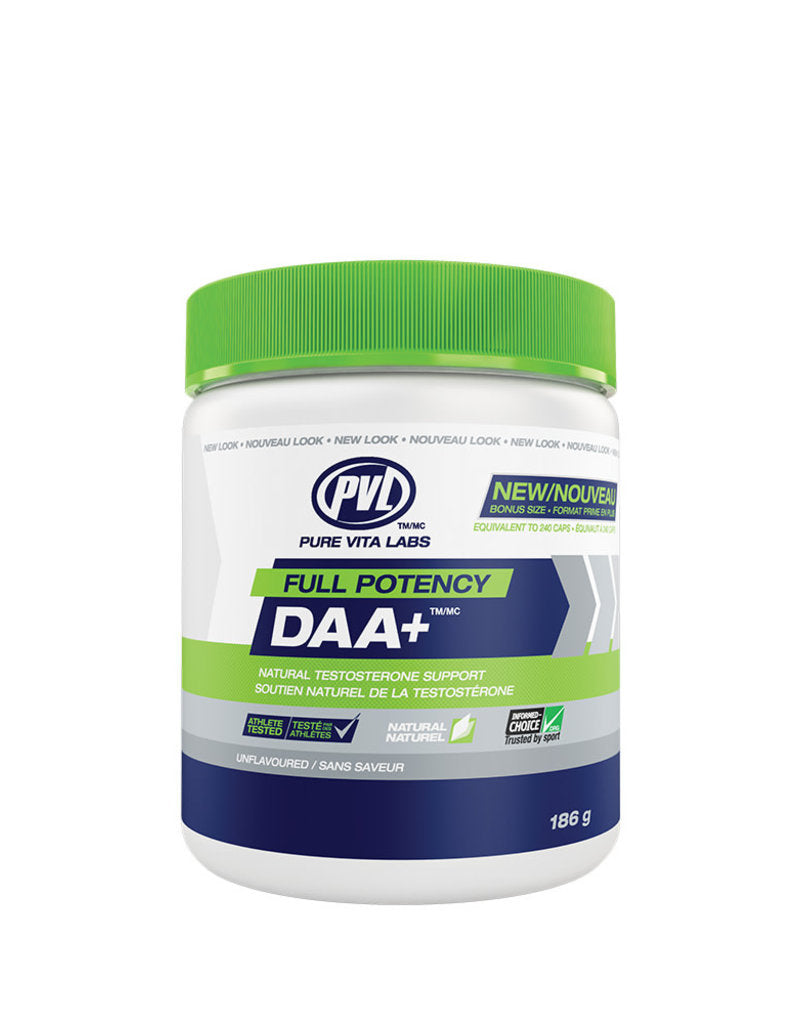 Pure Vita Labs - PVL - Full Potency Daa+ - Unflavoured - 186 g