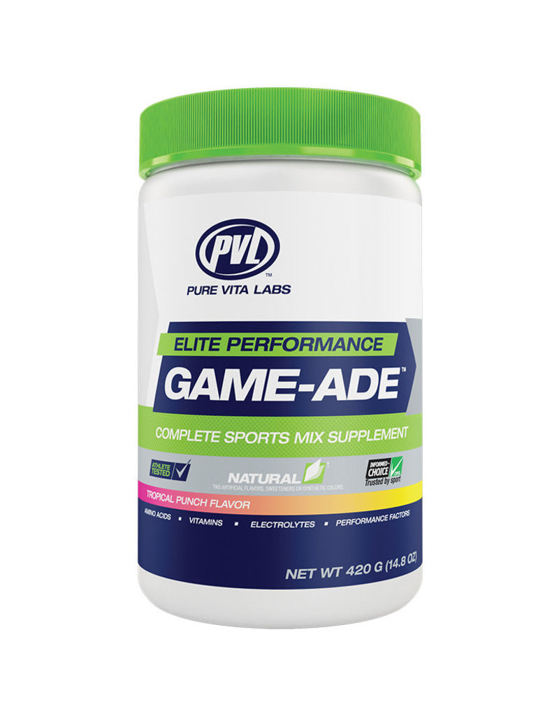 Pure Vita Labs - PVL - Game-Ade - Tropical Punch - 420g