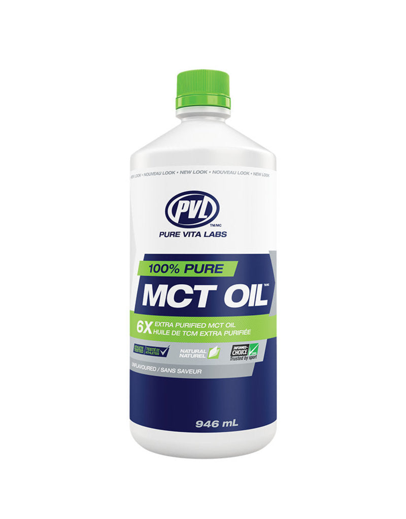 Pure Vita Labs - PVL - MCT Oil Sans Saveur - 946ml
