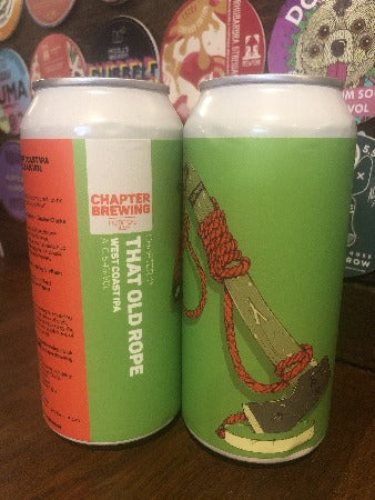 Chapter Brewing That Old Rope - 5.4% (440ml)