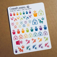 Stoned Mix Planner Stickers
