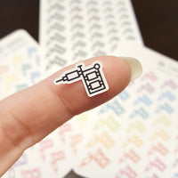 Small Tattoo Pen Stickers