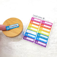 Marijuana Strain Tracker Appointment Label Stickers