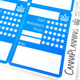 "Weed Store Tracker Stickers (Style T015 - Store Details"")"