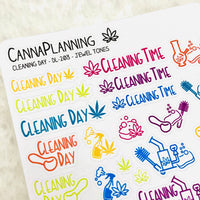 Cleaning Stickers | Marijuana stickers, clean my bong, clean my pipe, weed stickers, chores stickers, productivity stickers, cannabis art