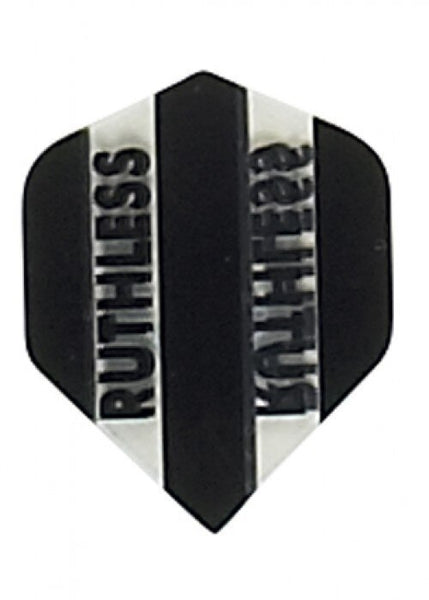 Ruthless x mini black standard shape dart flights 5 sets