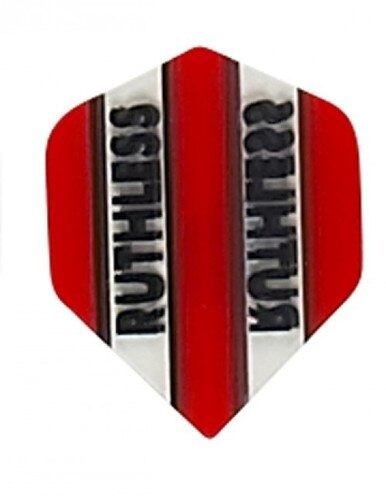 Ruthless x mini red standard shape dart flights 5 sets