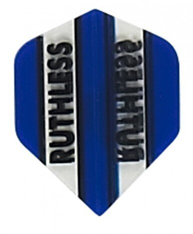 Ruthless x mini blue standard shape dart flights 5 sets