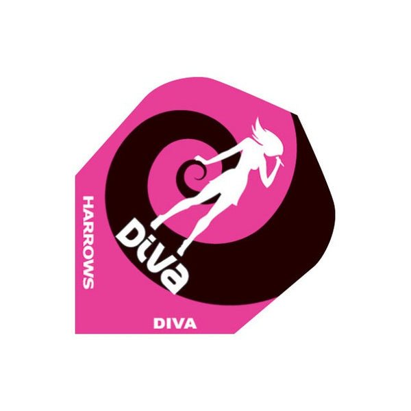 Harrows diva super chick standard shape dart flights 5 sets