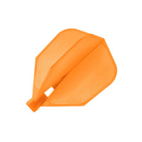 Harrows clic orange standard shape dart flights 1 set