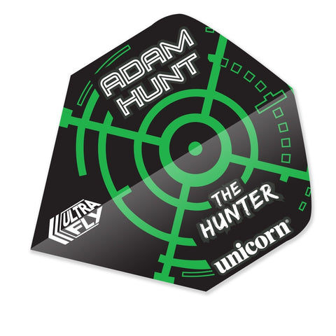 Unicorn player Adam 'the hunter' Hunt standard shape dart flights 5 sets
