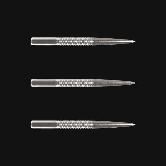 Winmau silver ringed 32mm replacement steel tip dart points