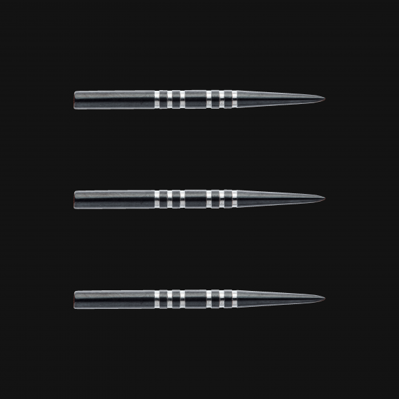 Winmau re-grooved Points 32mm replacement steel tip dart points