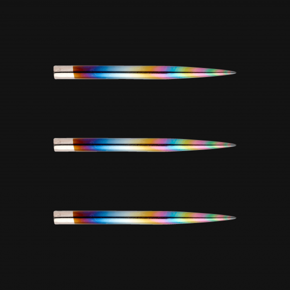 Winmau Rainbow 32mm replacement steel tip dart points