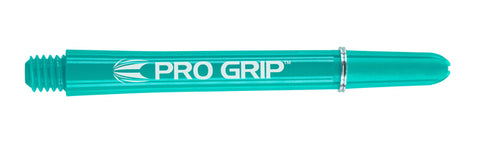 Target Pro Grip medium 48mm aqua dart stems /shafts/canes 5 sets