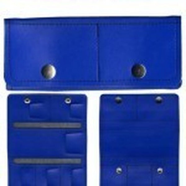 Super Pro Trifold Darts Wallet/Case blue
