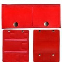 Super Pro Trifold Darts Wallet/Case red