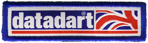 Datadart shirt patch (sew or iron on)