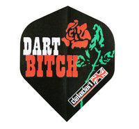 Datadart Metro M001 Dart bitch rose standard shape dart flights 5 sets