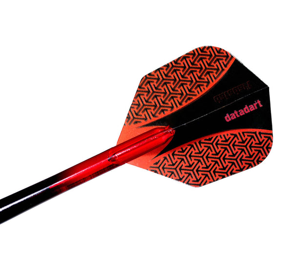 Datadart 15zro red standard shape dart flights 5 sets