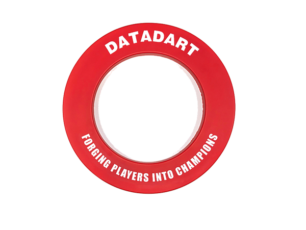 Datadart heavy duty dartboard surround red