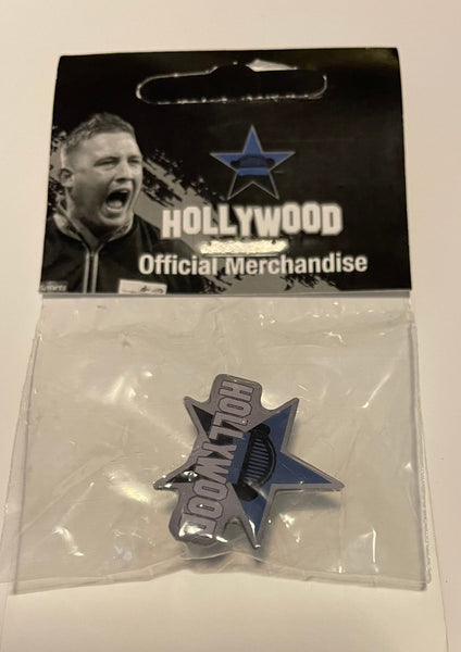 "Official Chris ""HollyWood"" Dobey Pin Badge"