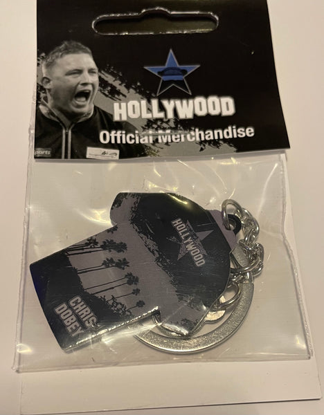 "Official Chris ""HollyWood"" Dobey key ring"