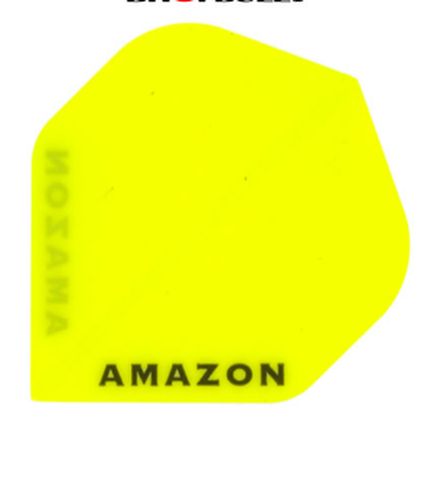 Amazon yellow standard shape dart flights 5 sets
