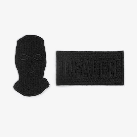 Black Dealer / Bandit Apparel Patches - Bad Goods