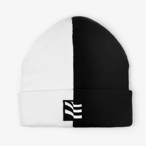 Black / White Beanie - Bad Goods