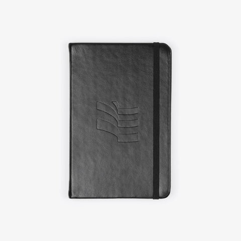 Black Classic Leather Notebook - Bad Goods