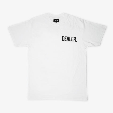 White 'DEALER' T - Bad Goods