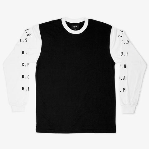 Black R.I.P. Long Sleeve T - Bad Goods