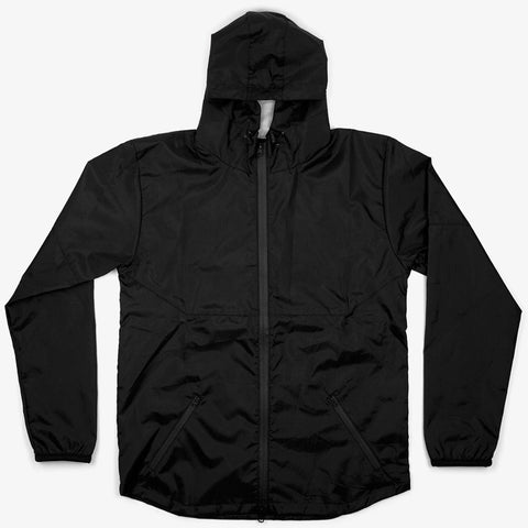 Black Weatherproof Running Jacket - Bad Goods