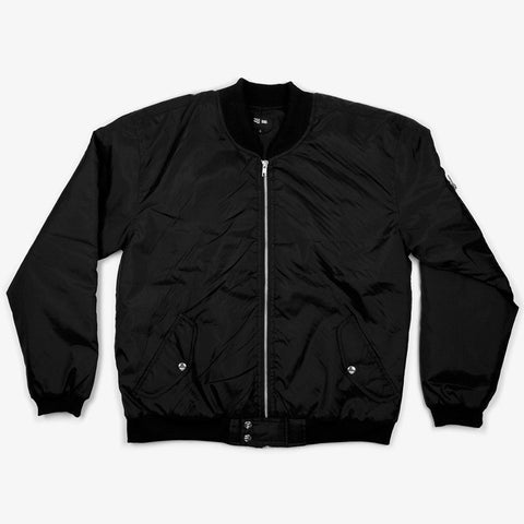 Black Bomber Jacket - Bad Goods