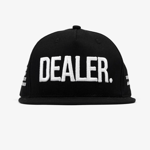 Black Dealer Snapback - Bad Goods
